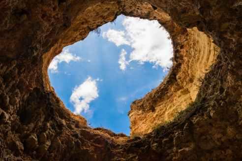 sky ditch eye hole